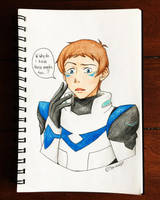 Altean Lance Sketch by Serina67