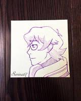 Pidge Sticky Note Sketch by Serina67