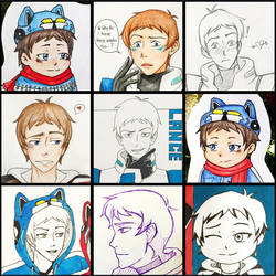 Lance Compliation by Serina67