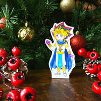 7 Days Left Till Christmas - Pharaoh Atem by Serina67