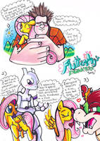 Fluttershy's Encounters by Aurora-Chiaro