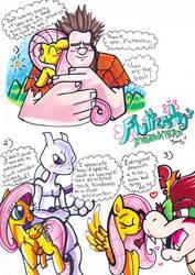 Fluttershy's Encounters by Aurora-Chiaro