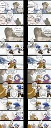 saintSeiya parodie4 suite 3 by Korin2b