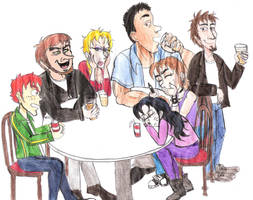 Drinking night by Violeta960