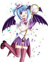Mepphy Magical Girl by Mindsebbandflow
