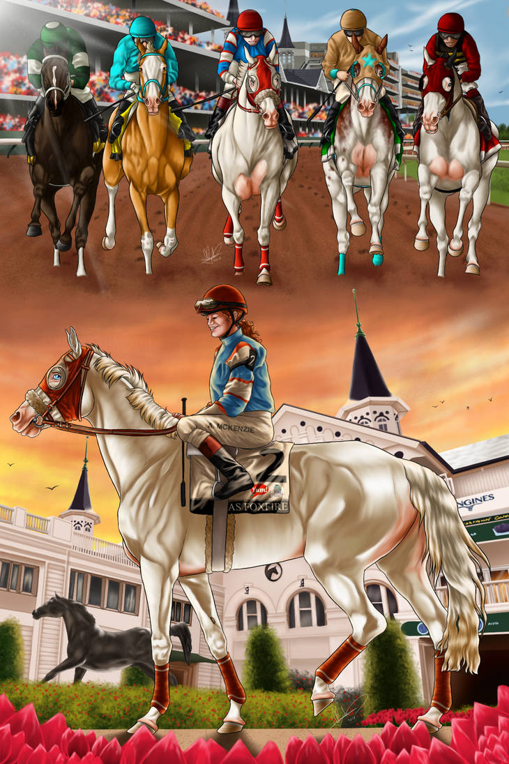 Foxfire's Triple Crown - The Kentucky Derby by Caterang8