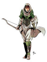 Archer Girl by A-Muriel