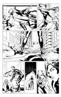 Green Hornet page Sample 2 by A-Muriel