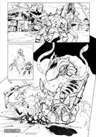 Borderlands  sample comic page by A-Muriel