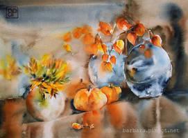 Glowing autumn by stokrotas