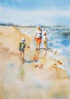 Seaside happiness by stokrotas