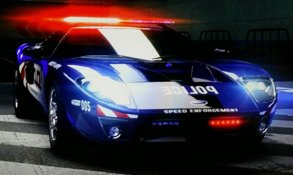 Ford Gt Police Car By Thecrewfan