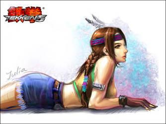 Julia Chang by kovboycak