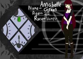 Annabelle Green :DeGeBroken: App by TheWildThingsRoam
