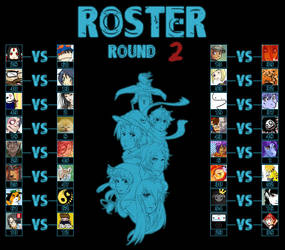 Round 2 Match-Ups by TheReal-OCT