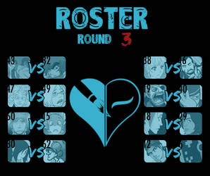 Round 3 Match-Ups by TheReal-OCT