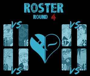 Round 4 Match-Ups by TheReal-OCT