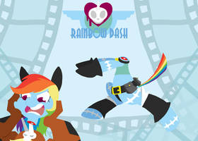 Skullmares - Rainbow Dash by FrogAndCog