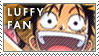 One Piece Luffy Stamp by erjanks