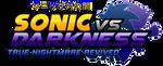 Sonic Vs Darkness : TNR Logo (My Version) by NuryRush