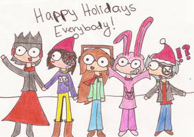 Happy Holidays by CrazyPaintbrush
