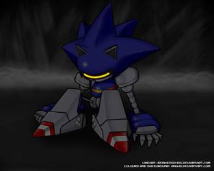 Mecha Sonic the Fallen by angus