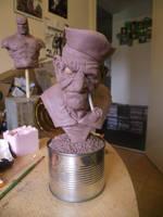 Popeye bust by logan250