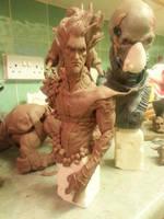 Nightcrawler bust by logan250