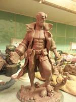 Hellboy Wip by logan250