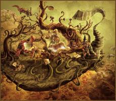 Steampunk pioneer by artstyledesign
