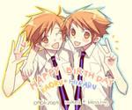 HBD Hikaru+Kaoru by mixed-blessing
