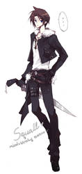 FF8: Squall by mixed-blessing