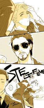 Tony/Steve: Do not disturb Captain 2 by mixed-blessing