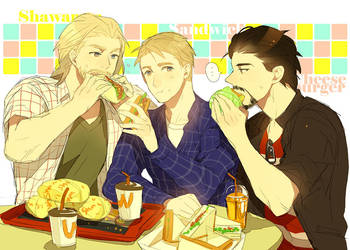 AVG: Heroes' Lunch by mixed-blessing