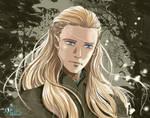 Legolas Greenleaf - fully digital by Neldorwen