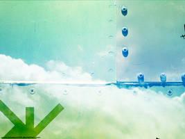 Metal Wall in The Sky by oscarrocks00