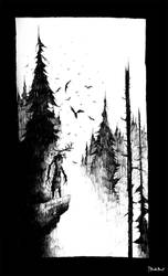 Leshen by TheDoubleDwarf