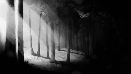 Forest II by TheDoubleDwarf