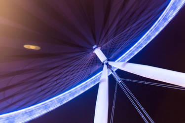 The London Eye by Mark-Fisher-Photos