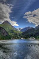 Geirangerfjord IV by Azagh