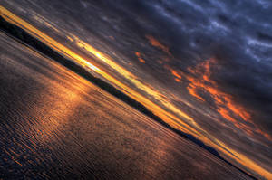 Norvegian Sunset II by Azagh