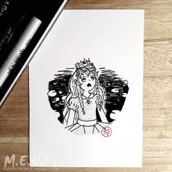Inktober 2018 Day 13 by Mita-san