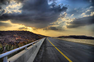 Road to Madinah1 by AG-photographya