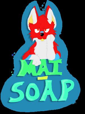 Mai Soap Fur Suit badge by Mai-Corgi