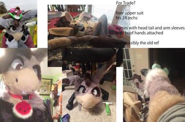 entertaining offers on v1 donkey partial trade by Mai-Corgi
