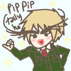 PIP PIP TALLY HO by tenderpuff