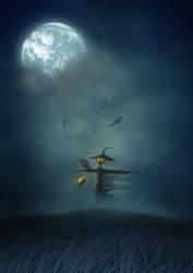 The Scarecrow by helgephoenix
