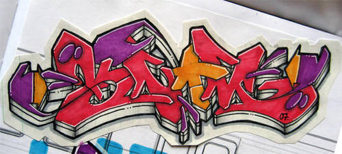 KNOM - Bang Blaow by knomer