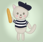 Bonjour! by LilBumbleBear