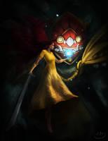 against the dark by h1fey